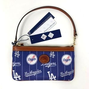 Los Angeles Dodgers MLB Dooney & Bourke Wristlit